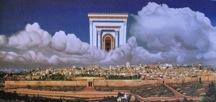 Picture, New Jerusalem, John Ligtenberg, Blue and White Gallery, Jerusalem, Israel.