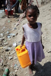 Haitiangirl - determined amongst the rubble - David Darg