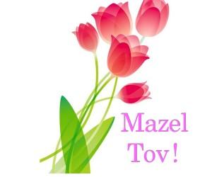 August's 2 Mazel Tov
