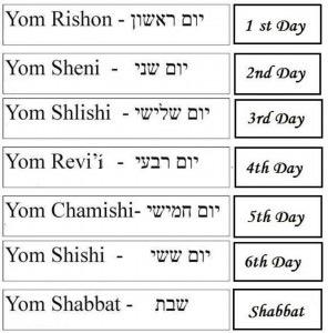 Days Chart