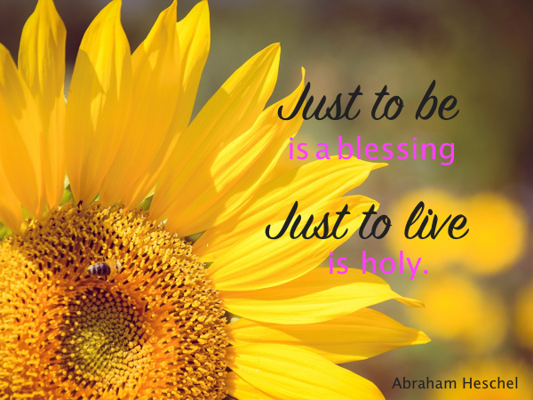 just to be...